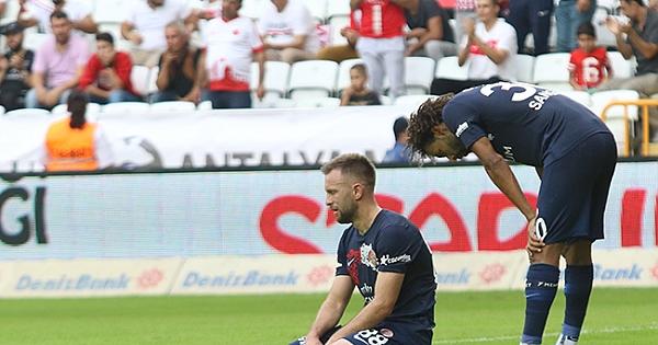 Antalyaspor 0- 6 Gençlerbirliği maçı