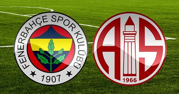 Süper Lig: Fenerbahçe: 0 - Antalyaspor: 1