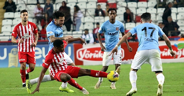 Süper Lig: Antalyaspor: 1 - Gaziantep FK: 1