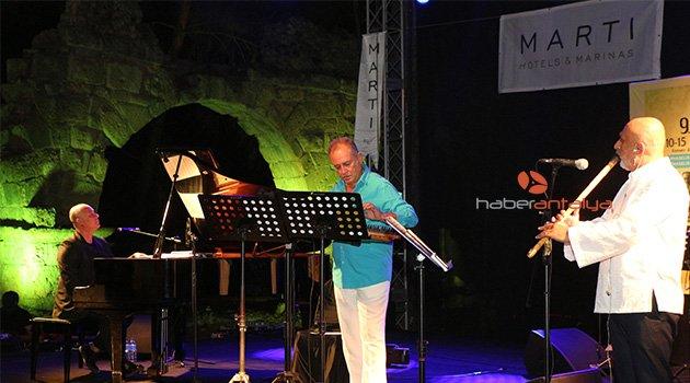 2 bin yıllık Phaselis Antik Kenti'nde sanat festivali başladı