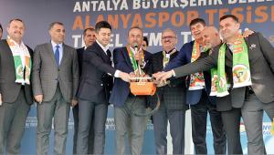 Alanyaspor'a 75 milyon TL'lik tesis geliyor