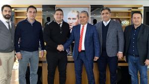 Antalyaspor yönetiminden ziyaret