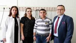 Bademcik ve geniz eti ameliyatıyla altını ıslatmaktan kurtuldu