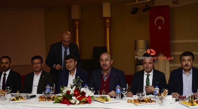 Bakan Çavuşoğlu, danışma kurulu toplantısında
