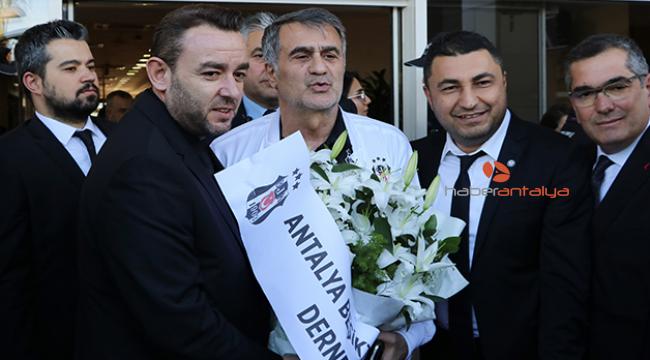 Beşiktaş, Antalya'ya geldi