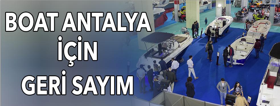 Boat Antalya için geri sayım