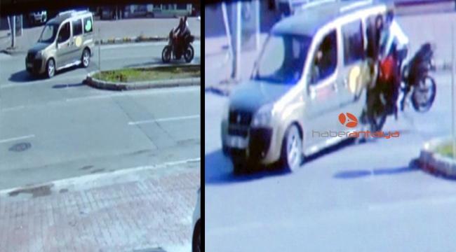 İki genci hayattan koparan feci kaza güvenlik kamerasında