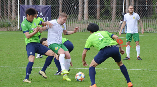 Japon ekip Shonan Bellmare Antalya'da kampta
