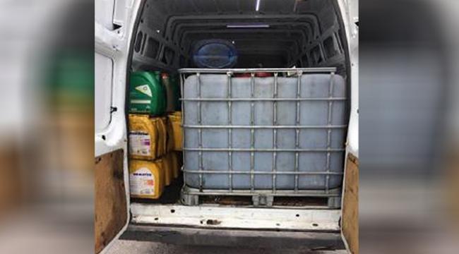 Kepez'de kaçak akar yakıt operasyonu