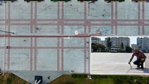 Muratpaşa Kent Meydanı'na dev Türkiye haritası çizilecek