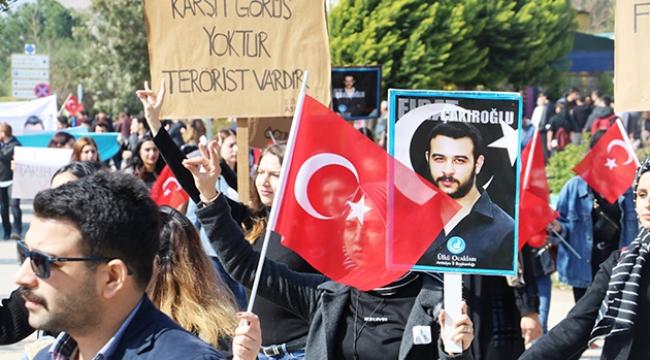Şehit edilen üniversite öğrencisi Çakıroğlu unutulmadı