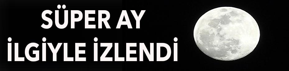 Süper Ay, Antalya'da ilgiyle izlendi