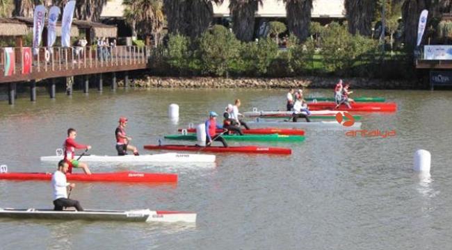 Antalya'da kano yarışları başladı