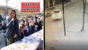 Başkan Türel'in eşi Ebru Türel trafik kazası geçirdi