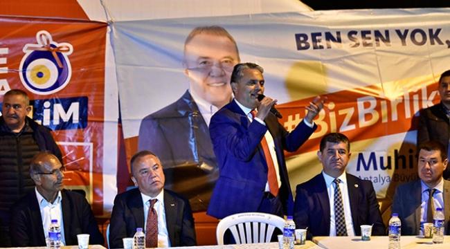 Başkan Uysal: İmar simsarlarına fırsat yok