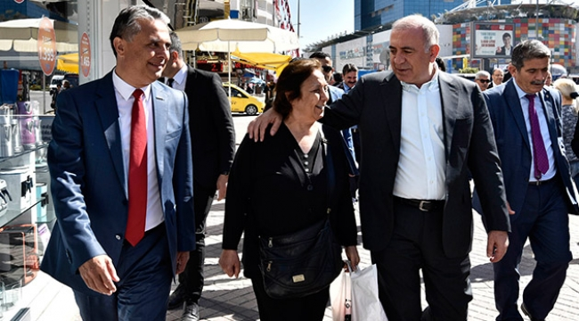 CHP'li Tekin, Başkan Uysal'ı ziyaret etti