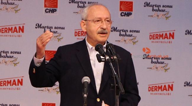 Kılıçdaroğlu'ndan eleştiri