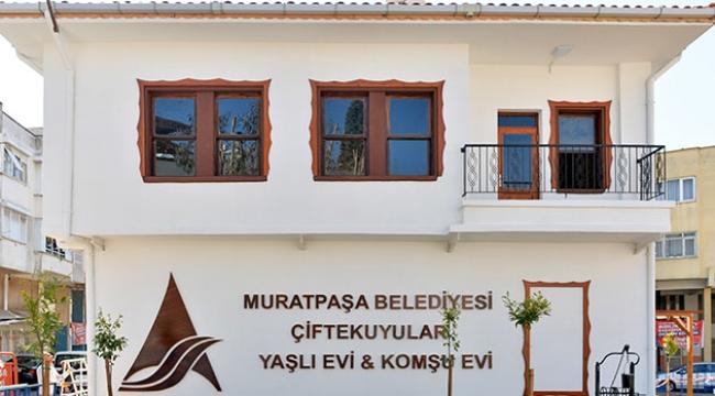 Muratpaşa'dan yaşlı evi projesi