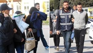 Polise 'Seyyar satıcıyız' diyen şüphelilerin 111 suçtan kaydı çıktı