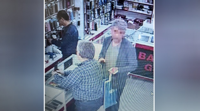 Telefon hırsızlığı kamerada