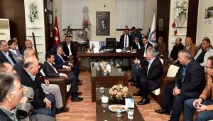 Uysal: Esnaf için işbirliği devam edecek