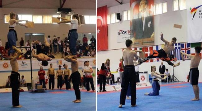 Açık Plaj Poomsae Avrupa Şampiyonası'nın ilki Türkiye'de