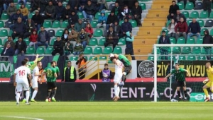 Akhisarspor-Antalyaspor karşılaşması