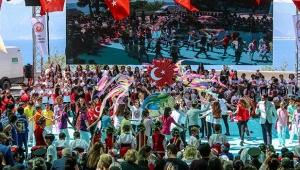 Antalya'da bayram coşkusu