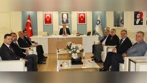 ATB'den belediye başkanlarına ziyaret