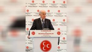 Bahçeli'den şok sözler: Antalya'da hainler cirit atacak