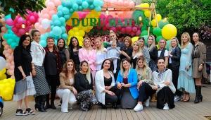 Minik Duru'ya renkli kutlama
