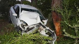 14 yaşındaki çocuk sürücü ölümden döndü