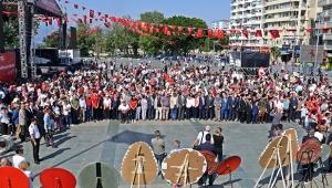 Antalya'da 19 Mayıs coşkusu