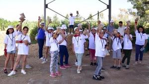 Antalya'da 'Lider Çocuk Tarım Kampı' 2. gününde