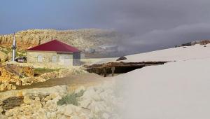 Antalya'da Mayıs ayında inanılmaz kar manzarası