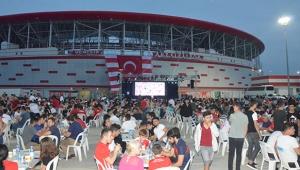 Antalyaspor Camiası İftarda Buluştu