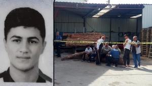 Kolunu iş makinesine kaptıran genç öldü