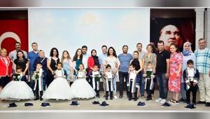 Antalya OSB Gündüz Bakım Evinde mezuniyet sevinci