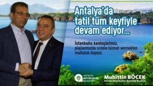 Antalya'ya davet etti