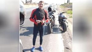Motosiklet sürücüsü öldü!