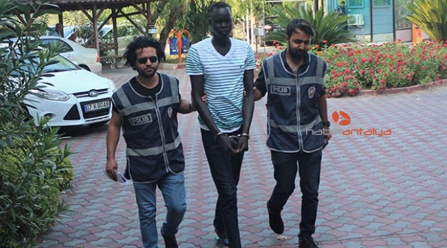 Sudanlı saldırgan serbest bırakıldı