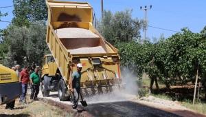 1 milyon 250'bin TL'lik sathi asfalt yatırımı !