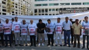 Antalya Büyükşehir Belediyesinde grev