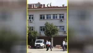 Antalya Lisesi'nde tehlikeli çalışma