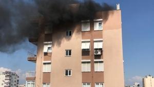 Çatı katında yangın !