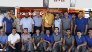 Gürbüz'den Bilal'e ziyaret