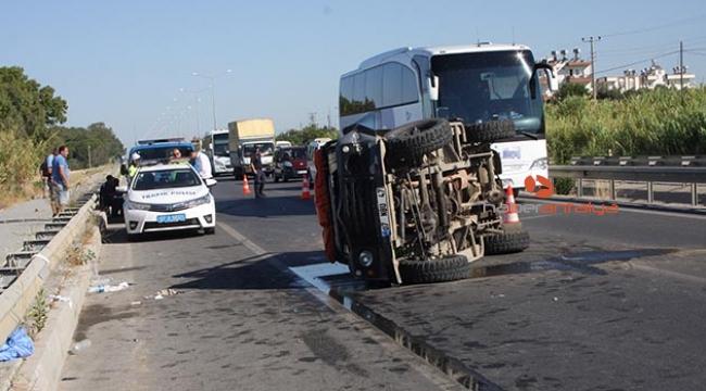 Safari kazası: 8 turist yaralı