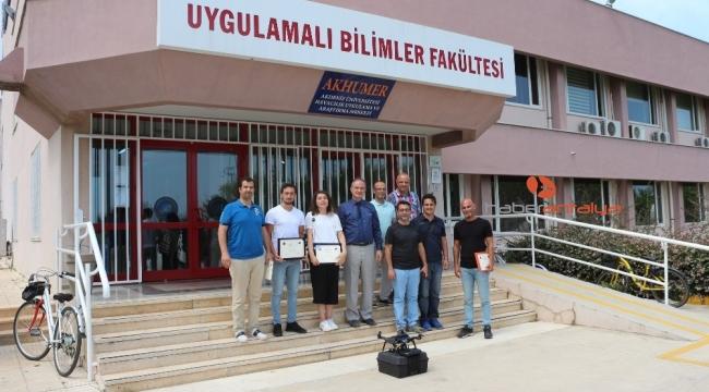 Akdeniz Üniversitesi'nden İHA Pilotluk Eğitimi