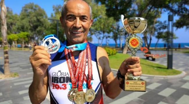 Antalya'lı 'Demir adam', dünya şampiyonasına hazırlanıyor