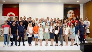 Antalya OSB'de, itfaiyecilere özel eğitim